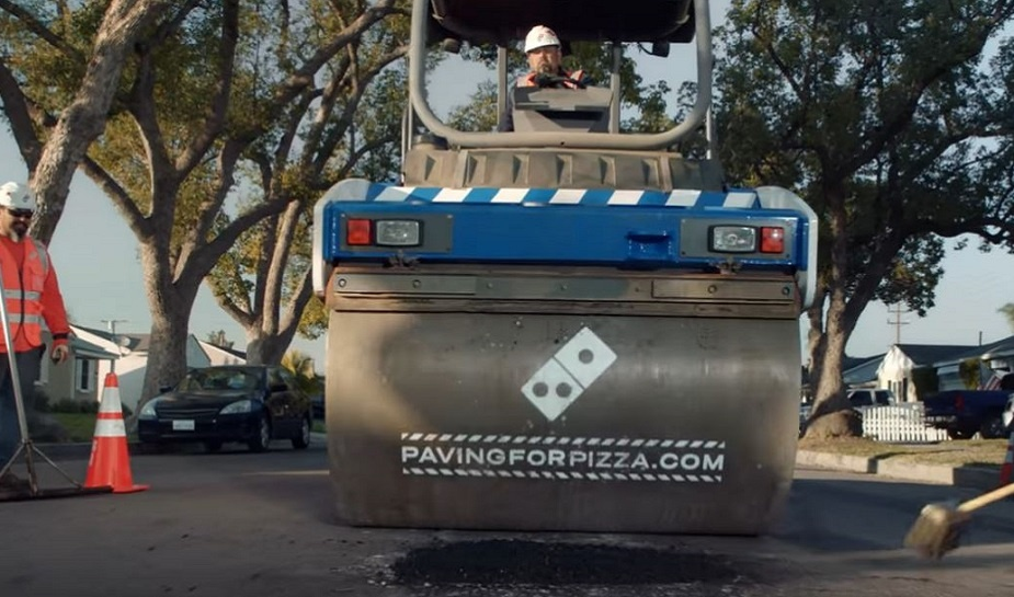 Domino's Paving for Pizza 2
