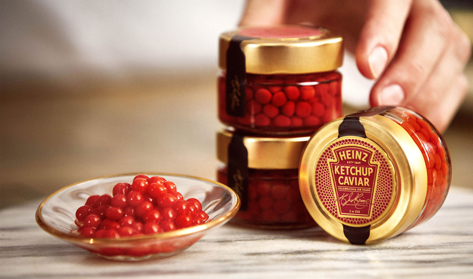 Celebrate Valen-HEINZ Day with a serving of Ketchup Caviar