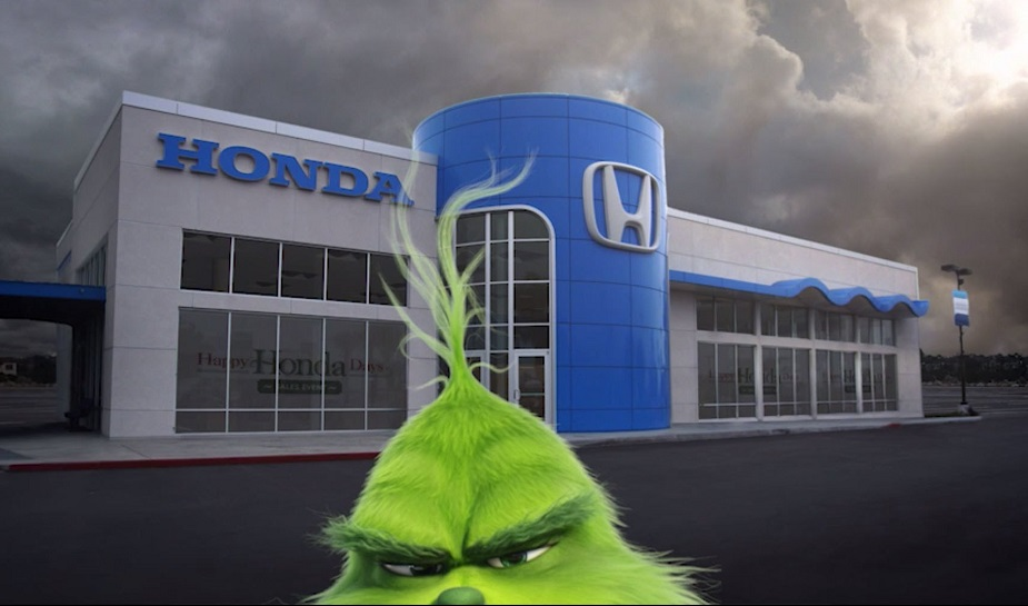 Honda - The Grinch takeover 3