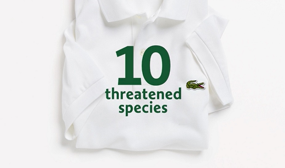 ba7944159a91 Lacoste helps endangered species with limited edition brand campaign