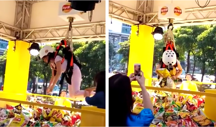 Walkers Human Claw Machine