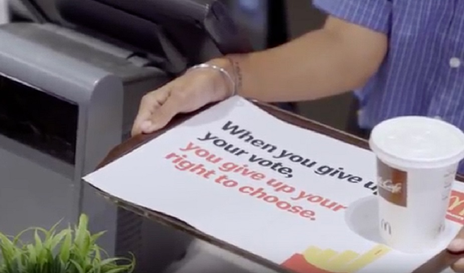 McDonald's right to choose 4