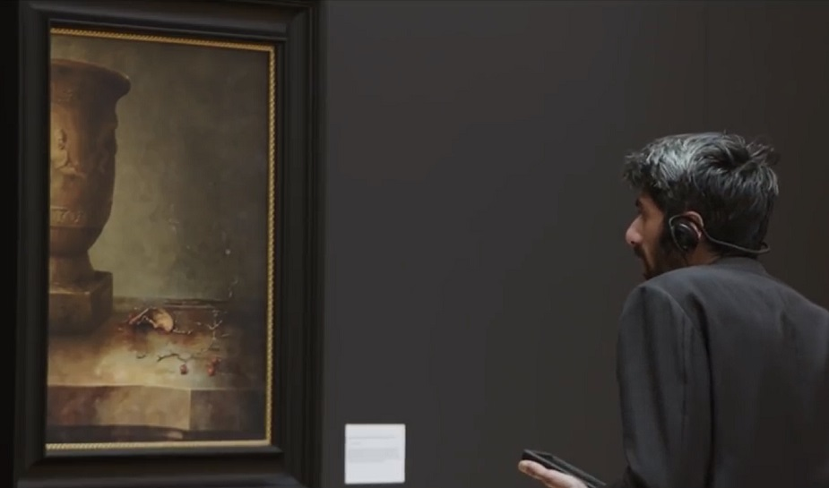 Philips Rijksmuseum fruit stunt 2