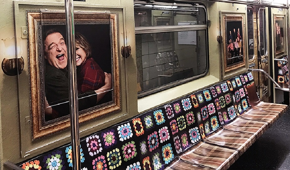Roseanne subway train 1