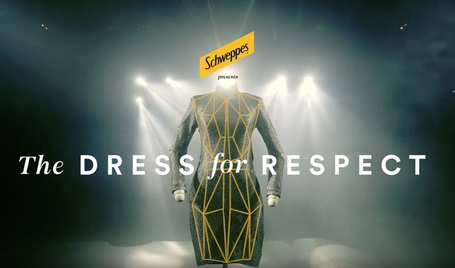Schweppes dress for respect 2