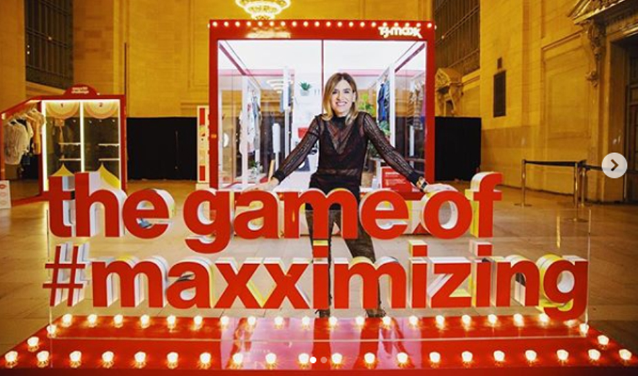 0559c43595a9 T.J. Maxx Maxx-imises engagement with gamified pop-up installations