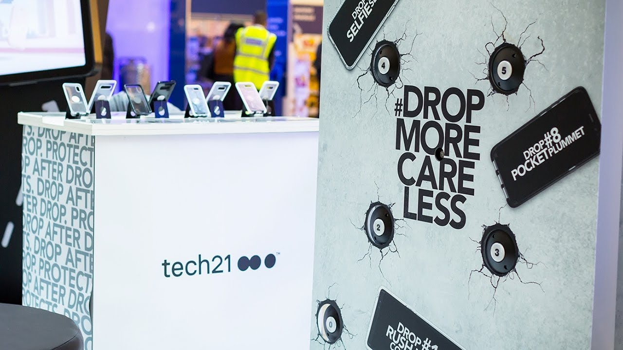 Tech21 stand