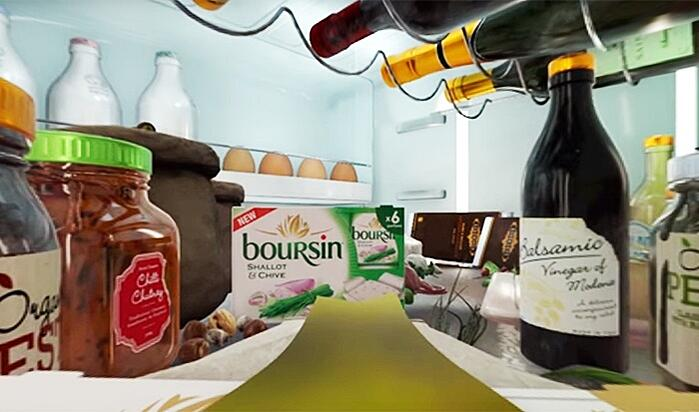 Boursin Sensorium Virtual Reality Fridge