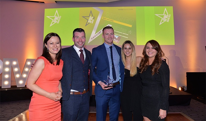 BEcause win 8 APMC Ireland 2017 Star Awards