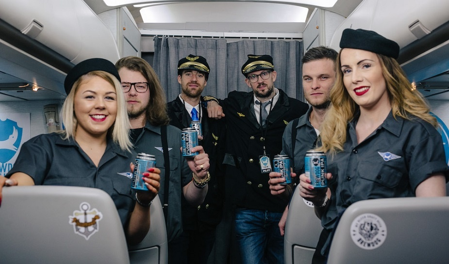 Brewdog craft beer airline 1