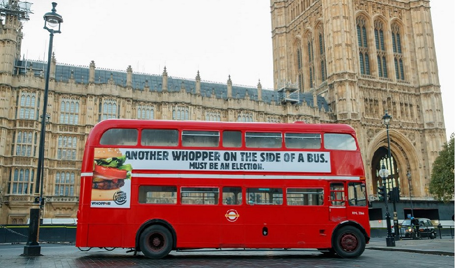 Burger King Whopper Bus 1