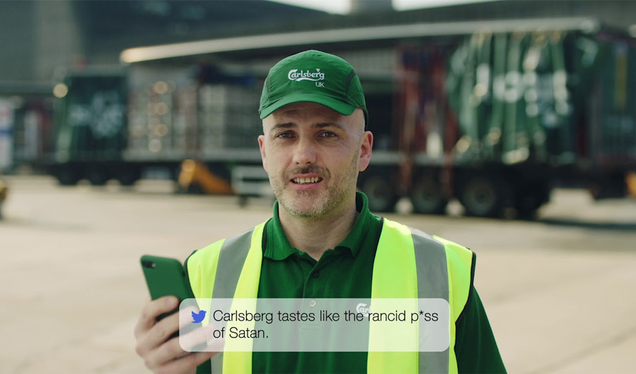 Carlsberg Mean Tweets 2