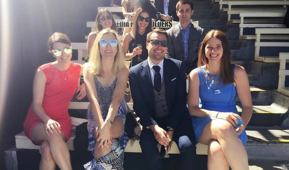 Looking chic at the Melbourne Cup.jpg