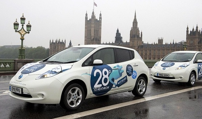 Nissan-Leaf-London